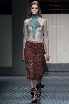 Gucci, Осень-зима 2015/2016, Ready-To-Wear, Милан
