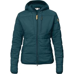 Fjallraven Women's Keb Padded Hoodie - at Moosejaw.com