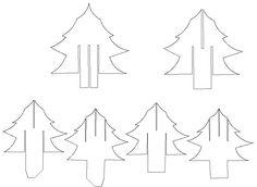 Steffies Hexenhaus: Pop-up-Weihnachtsbaum-Karte mit Link zu GSD und Schneidevorlage