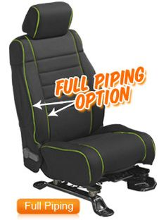 Wet Okole Neoprene Jeep Seat Covers - Quadratec