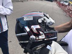 Lance Stroll's new bucket F1 2017, Helmet Design, F 1, Motogp, Helmets, Gears, Bucket, Racing, Hard Hats