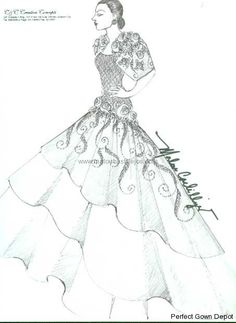 Perfect for sagalas Filipiniana Wedding, Filipiniana Dress, Wedding Gowns, Dress Sketches, Dress Drawing, Formal Wear, Mother Of The Bride, Costumes, Costume Ideas