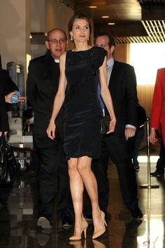 Crown Princess Letizia attended a concert organized by Luca de Tena Foundation at the Auditorio Nacional de Musica in Madrid