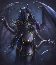 ideas dark fantasy art women deviantart rpg for 2019 Dark Fantasy Art, Fantasy Girl, Fantasy Art Women, Fantasy Warrior, Fantasy Artwork, Dark Art, World Of Warcraft, Warcraft Art, Warcraft Legion