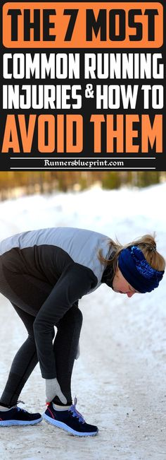 Today, dear reader, I will delve a little deeper into some of the most common running injuries, along with the best ways for treating and preventing them for good. #running #injury #athletic http://www.runnersblueprint.com/the-7-most-troublesome-running-injuries-and-how-to-deal-with-them/