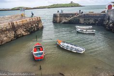 Coliemore Harbour And Dalkey Island by infomatique, via Flickr