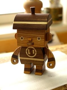 wooden crafts hand-made by Takeji (Take-G) Nakagawa.