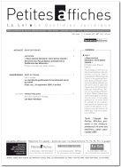 Numéro spécial, 110e Congrès des notaires de France. LPA, 03/06/2014, n°110 - Salle des périodiques PG 101- Version en ligne http://www.lextenso.fr.doc-distant.univ-lille2.fr/weblextenso/revue/revue?ref=PA