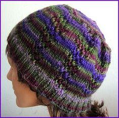 Free Knitting Pattern - Hats: Lacey Lattice Hat