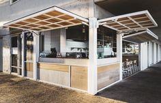 The Avalon on the Beach Interior Designers Sydney, Avalon Beach, Residential Architect, Beach Bars, Cafe Interior, Kiosk, Sydney Australia, Hospitality, Coffee Shop