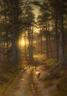 Joseph Farquharson Oil Paintings | Joseph Farquharson