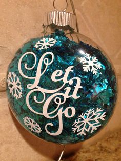 Frozen Inspired Elsa Anna Olaf Christmas Ornament Snowflakes Princess Let It Go Snowman