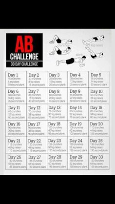 30 Day Flat Abs Challenge😜💪 Great For Starting The New Month!Drink as many glasses of water as it says for each day! Abb Workouts, 30 Day Ab Workout, Month Workout Challenge, 30 Day Workout Challenge, At Home Workouts, 30 Day Challenge For Men, Core Challenge, Stomach Workout For Beginners, Workout For Flat Stomach