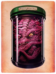 StuffNThings - General Krang Illustration by Hanzel Haro