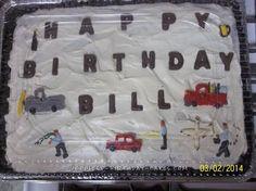 Wild Bill Adventures 60th Birthday Cake... Coolest Birthday Cake Ideas