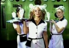 Britney Spears Clothes, Costumes, Accessories, and Props: DIY Britney Spears (You Drive Me) Crazy Waitress C...