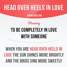 Are you head over heels in love right now?