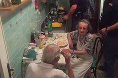 Police Cooked This Lonely Elderly Couple Pasta After They Were Heard Crying