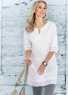 Tunic with trim                                                 …