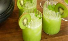 Kiwi Punch - Arguably one of the simplest and easiest nonalcoholic summer drinks to make, kiwi punch is a favorite choice for many on a hot day. As for all the alcohol fans out there looking for a little something extra? Let's just say a shot of vodka or light rum won't really hurt anybody.