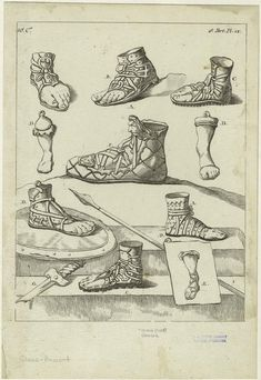 Ancient Greek Footwear were largely sandals, but incorporated full fabrics and strings to strategically have them sustainable. Ancient Greek Costumes, Ancient Greek Clothing, Ancient Egyptian Art, Ancient Rome, Ancient Greek Sandals, Ancient Aliens, Greek History, Ancient History, Fake History