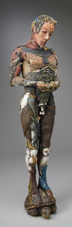 """The Faun - 60"""" tall 'The Human Form Collection' by Jeff Raasch"""