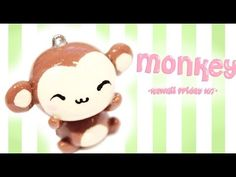 ◕‿◕ Monkey! Kawaii Friday 107 - Tutorial in Polymer clay! - YouTube
