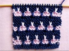 Punto Ropa Bebé #8 How to Knit a Baby Stitch 2 Agujas (337) - YouTube