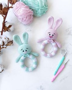 Crochet Toys Newborn Amigurumi 69 Ideas For 2019 Crochet Baby Toys, Newborn Crochet, Crochet Bunny, Baby Knitting, Knit Crochet, Handmade Baby, Handmade Toys, Diy Crafts To Do, Newborn Toys