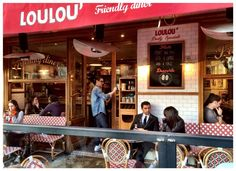 Loulou' friendly dinner - bld St Germain V°