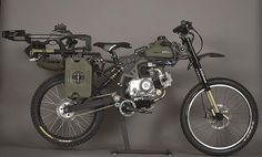 A motorized bike will help you survive the apocalypse