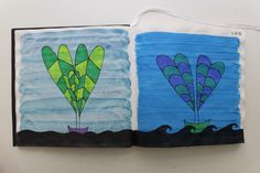 LAURA GUILLÉN 1-7-15 diario arte naturaleza mar sketchbook art nature sea