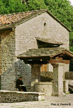 La Verna, Arezzo, Toscana.