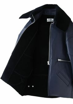 ACNE STUDIOS  Major Oversized Leather Jacket