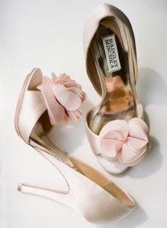 Badgley Mischka blush pink