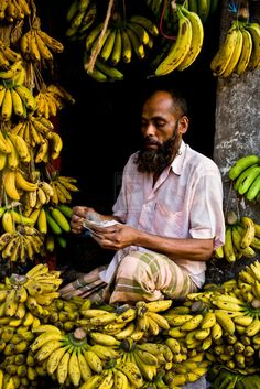 In the first village i lived in bdesh we had these little bananas every morning for breakfast they were so yummy!