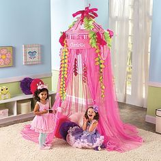 Girls Rainforest Hanging Canopy Tent