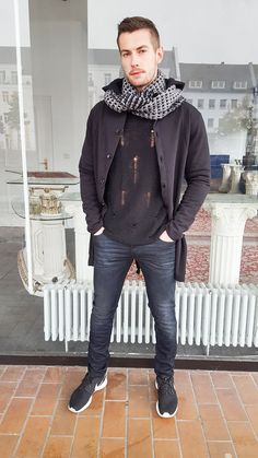 Outfit der Woche! Jeans: Diesel – Pullover: Cinque – Cardigan: Key Largo #ootw #fashion