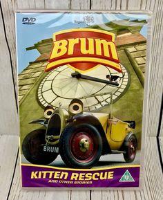 Brum - Kitten Rescue And Other Stories (DVD, for sale online Kitten Rescue, The Originals, Kids, Ebay, Children, Boys, Children's Comics, Boy Babies, Kid