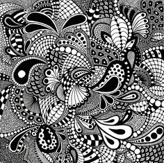 Zentangle Art: An Elegant Metaphor for Deliberate Artistry in Life