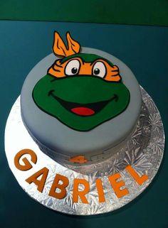 #tortugas #Ninjas #cakes