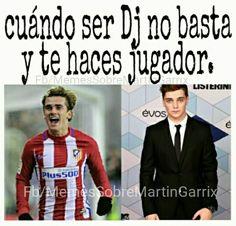 #wattpad #de-todo Aquí encontraras memes para reír un rato, noticias de Garrix, y algunas dinámicas ➕✖