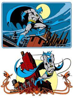 Batman by José Luis García-López from the 1982 DC Comics Style Guide Comic Book Artists, Comic Books Art, Comic Art, I Am Batman, Batman Robin, Superman, Batman Stuff, Dc Comics Art, Batman Comics