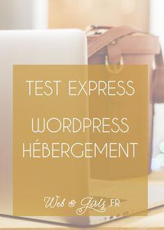 [Test Express] #WordPress hébergement #blog #blogging