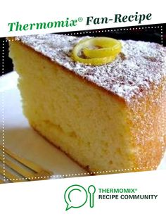 Lemon Yogurt Cake: I cannot praise this cake enough. It has no butter, not much sugar, and has such a lovely light and spongy texture. Additionally, it has a great amount of protein in it from the yogurt. Greek Yogurt Cake, Lemon Yogurt Cake, Lemon Drizzle Cake, Greek Lemon Cake Recipe, Lemon Recipes, Sweets Recipes, Baking Recipes, Cake Recipes, Let Them Eat Cake