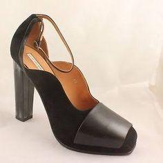 Womens Dries Van Noten High Horn Black 900 Heels-