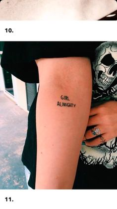 21 feminist tattoos to make you feel major girl power - Tattoo Arts Great Tattoos, Body Art Tattoos, New Tattoos, Small Tattoos, Tatoos, Simple Quote Tattoos, Harry Styles Tattoos, Meaningful Tattoos, One Direction Tattoos