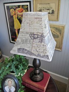 One Lucky Day: Eclectic Elements Lampshade I want some of this T!m Holtz fabric… Cover Lampshade, Diy Lampshade, Tim Holtz Fabric, Home Crafts, Diy Crafts, Sewing Projects, Diy Projects, Lucky Day, Handmade Decorations