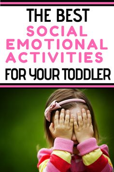 The Best Social Emotional Development Activities for Toddlers Toddler Activities: Are you looking for simple ideas and strategies to work on social skills? Learn about toddler social development and find simple ways to encourage it. Social Emotional Activities, Emotions Activities, Social Emotional Development, Toddler Development, Toddler Learning Activities, Infant Activities, Child Development Activities, Motor Activities, Learning Toys