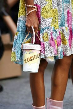 Street Style Shoes and Bags at Fashion Week Spring 2017 | POPSUGAR Fashion